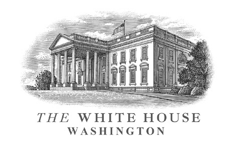 White House Woodcut Logo